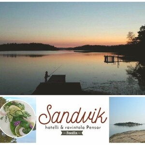 Delicious food in beautiful archipelago nature, Parainen