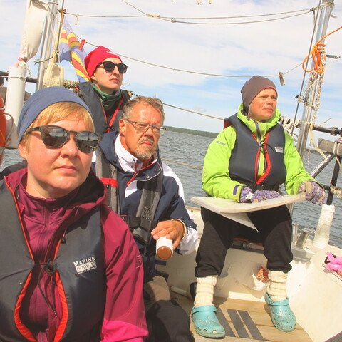 Sailing at the Archipelago