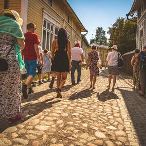 Guided Tour in Old Rauma, Rauma