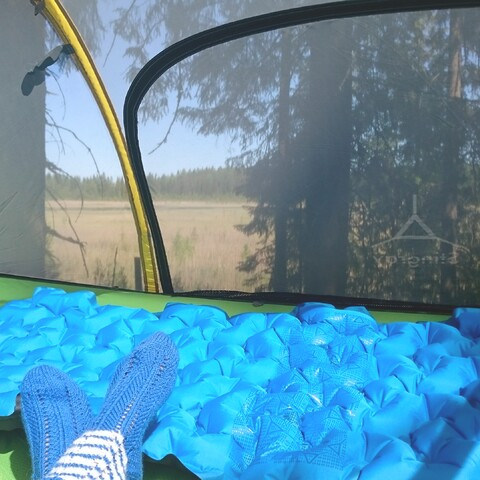 Relaxing stay in Tentsile tree tent