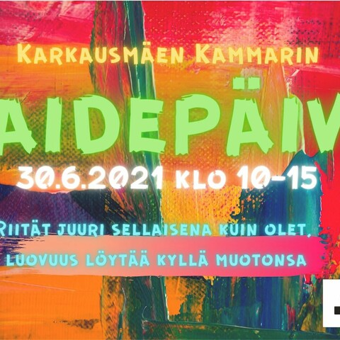 Art workshop at Karkausmäki