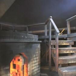 Enjoy smoke sauna