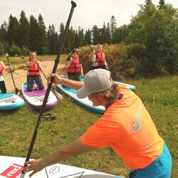 Standup Paddle tailored personal instructing and activities
