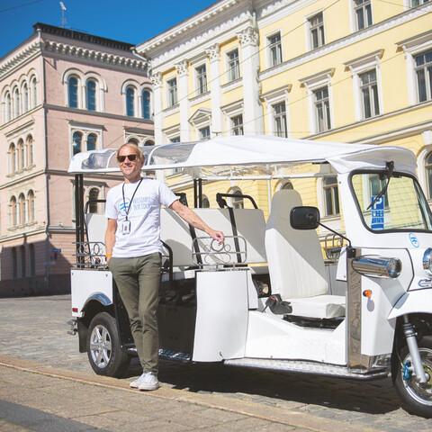 City Tour by Electrical TukTuk