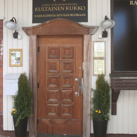 Delicious lunch at Restaurant Kultainen Kukko