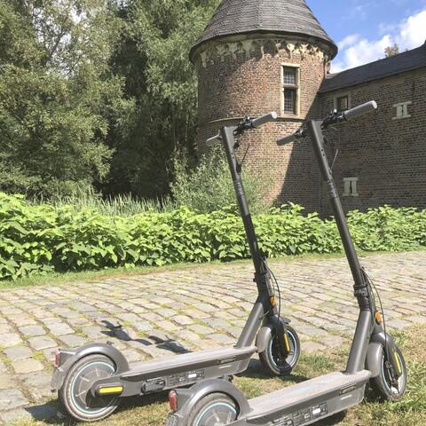 E-Scooter Tour: Neue Mitte