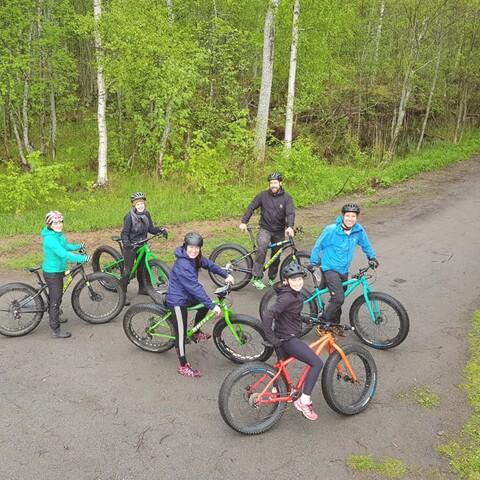 Lauantain läskipyöräilyt