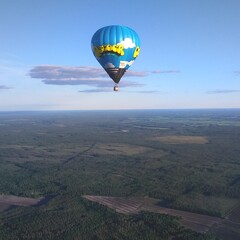 Hot air balloon flights (1-4 persons)