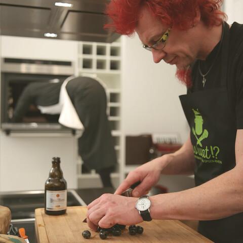 Digital live-cooking event with Stefan Opgen-Rhein