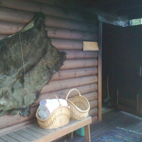 Enjoy smoke sauna