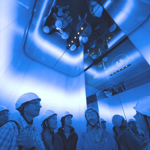 Virtual guided tour in Tytyri Mine Experience