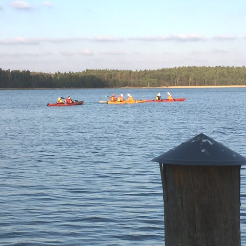 Kayaking at Hotel Stallbacken Nagu