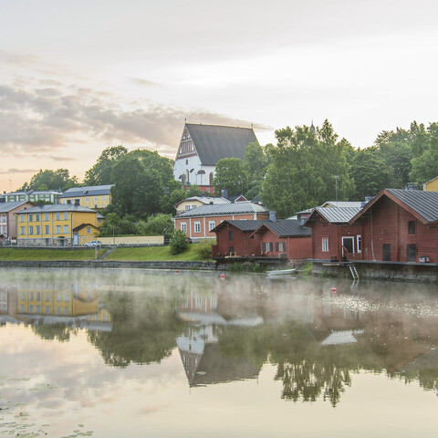 Old Porvoo 1899 through the lense of Natalia Linsén