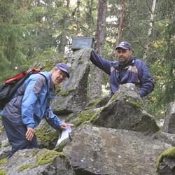 Hiking in Hyvinkää Sveitsi Forest