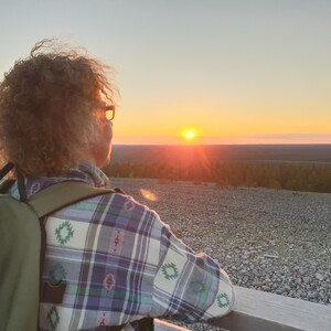 Slow Hiking in Midnight Sun, Rovaniemi