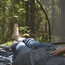 Enjoy and relax in a tree tent