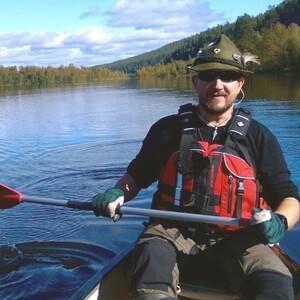 Canoeing trip with stories to Southern Konnevesi National Park., Jyväskylä