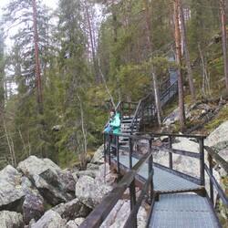 Day hike at Amazing Auttiköngäs area