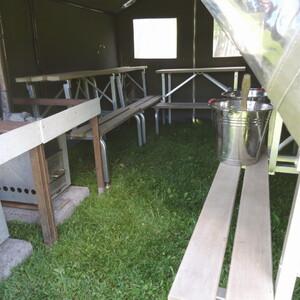 Tent sauna activities, Tampere
