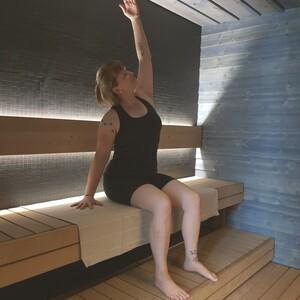 Steam yoga and singing bowl bath, Oulu