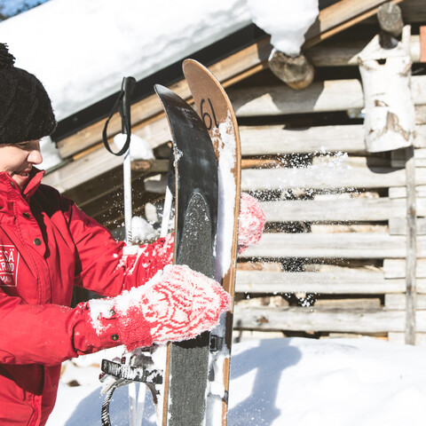 Two-night snow vacation for two persons in Metsäkartano
