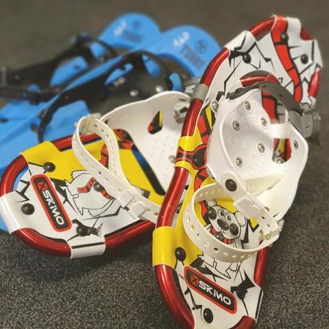 Rent snowshoes