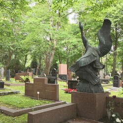 Guided tour at the Cemetary: Art and artists