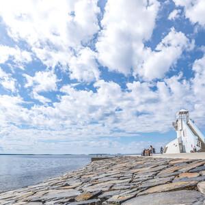 Piknikkassi kahdelle Nallikarissa, Oulu