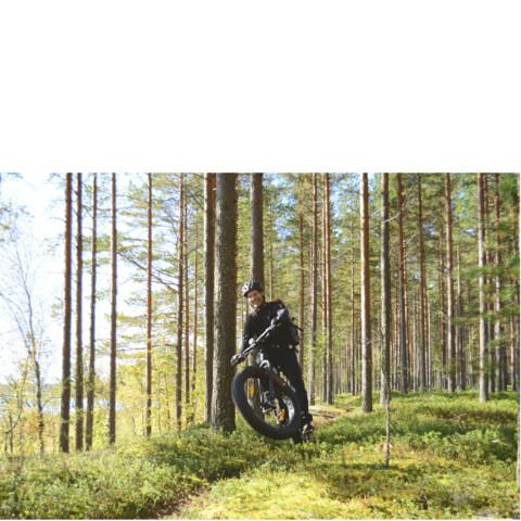 Jump on fatbike and enjoy