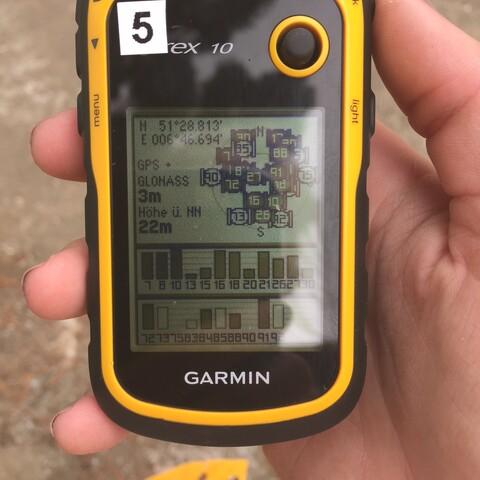GPS-Treasure Hunt trough the landscape park Duisburg-North