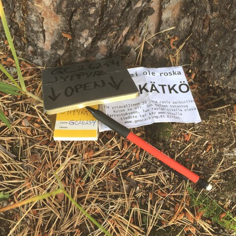 Geocaching in Finnish Nature