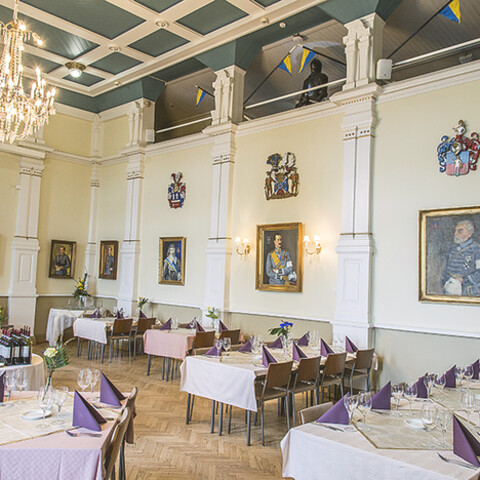 Story dinners at Officers' Club