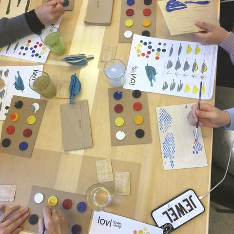 LOVI Workshop Taito Shopissa