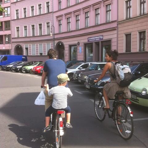 Pyöräkierros Berliinissä