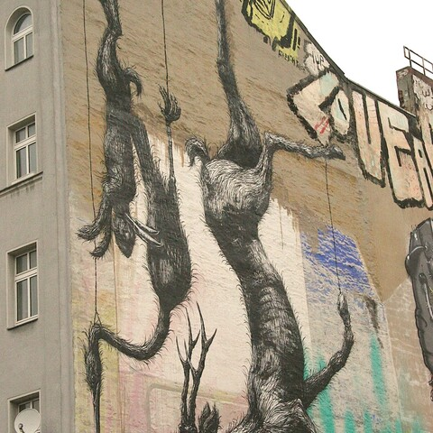 Katutaidetta Berliinissä