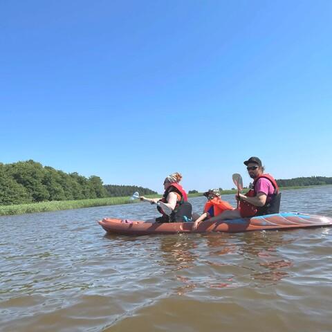 Kayaking in Porvoo archipelago