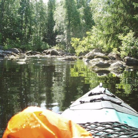 2 days-paddling Valama- and Jongunjoki