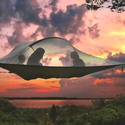Vietä yö puussa - Koitelin Koskikipparin eco-camping