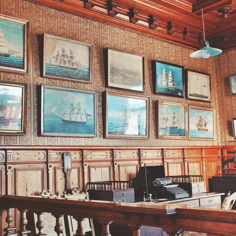 Vierailu laivanvarustajan kotimuseoon Marelaan