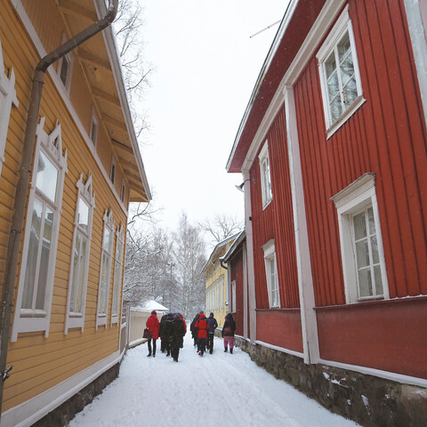 The Shipowner's Lady's Walking Tour in Old Rauma
