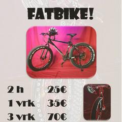 Fatbike rent