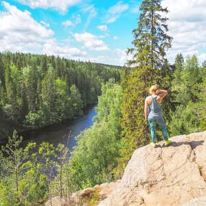 Day trip to Helvetinjärvi National Park, Tampere
