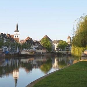 Morning jog in Strasbourg, 斯特拉斯堡