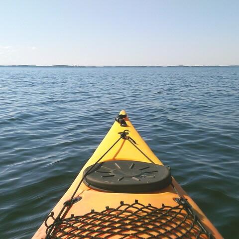 Kayaking tour in Karelia