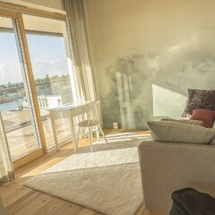 Luxurious Apartment Villa Merellä with a Five-Star Seaside View