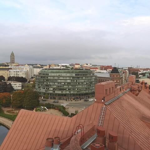Virtual Kallio district - the coolest area of Helsinki