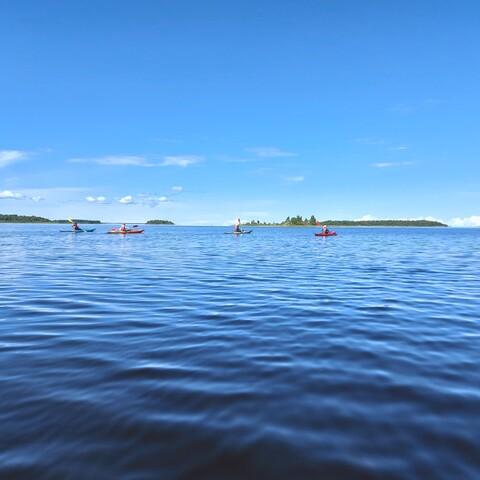 Varjakka island experience