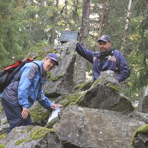Hiking in Hyvinkää Sveitsi Forest, Hyvinkää