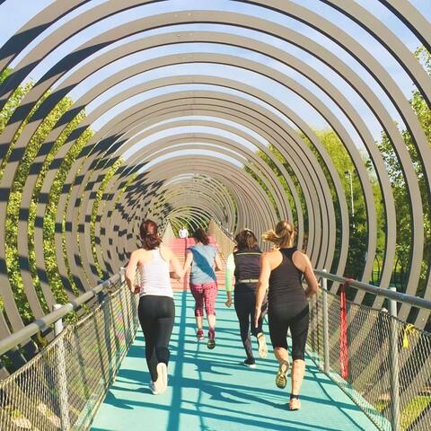 Running in Oberhausen