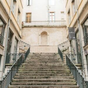 Lyon stairs challenge, 里昂